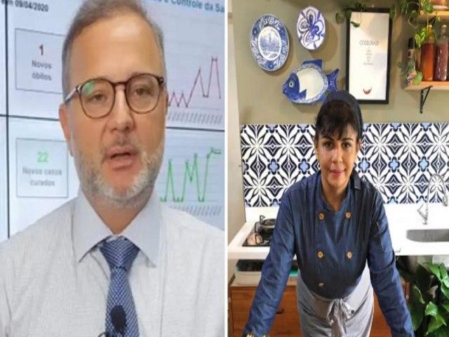 Secretário de Saúde da Bahia chama chef de cozinha de vagabunda e logo após pede desculpas