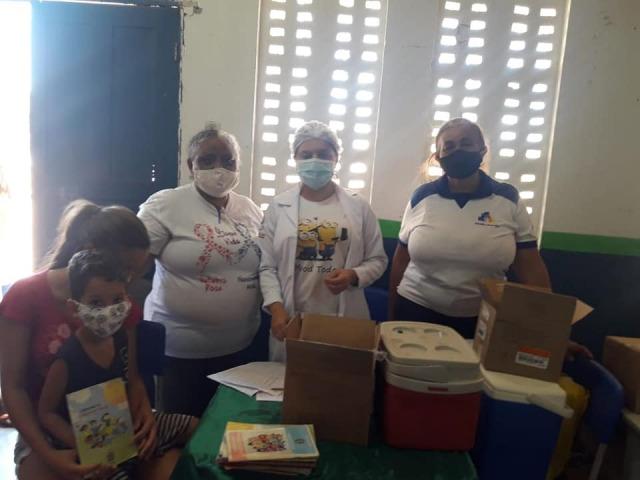 Prefeitura de Floresta/PE Atualização da Caderneta de Vacina