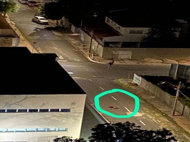 Homem com chave de arrombar moto é baleado e fratura perna em Teresina
